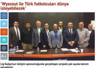 3 Wyscout ile Türk Futbolcuları Dünya İzleyecek