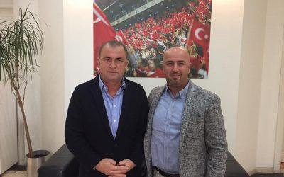 Fatih Terim'le Spor Toto 2-3 Gelişim Projesi Toplantısı – 15 Kasım 16
